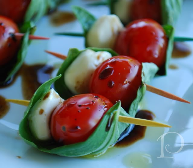 This Caprese salad on a stick is simple to prepare and so delicious. I ...