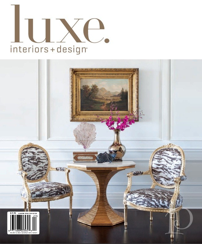 Lovely As You Know, I Am A Big Fan Of Luxe Interiors + Design Magazine. As I Paged  Through The Summer Issue, I Was So Excited To Come Upon This In The  Gatherings ...