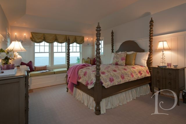 Cape Cod luxury home | seaside guest suite