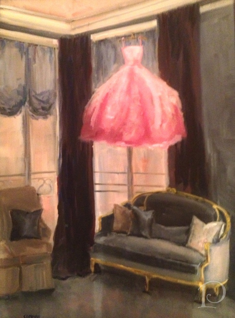 Gown and Room painting
