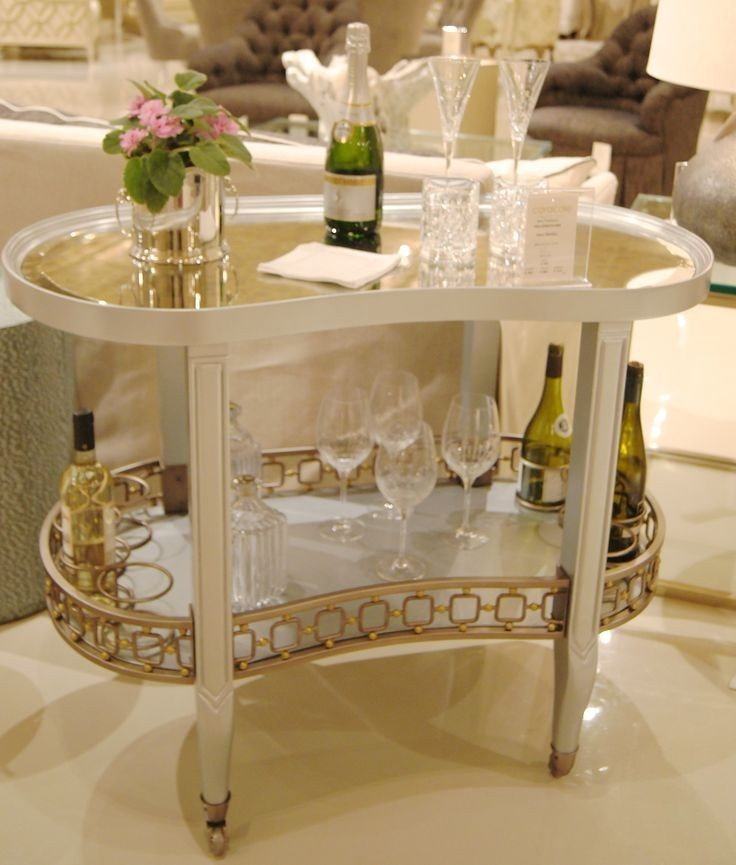 Dean martini bar cart
