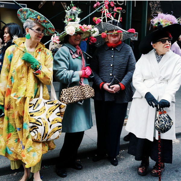 NYC Easter Parade on Instagram
