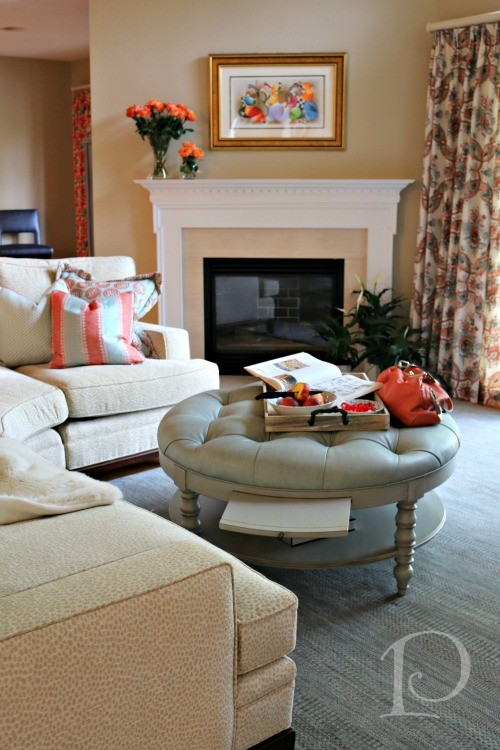 Cape Cod Family Room 1 by Pamela Copeman
