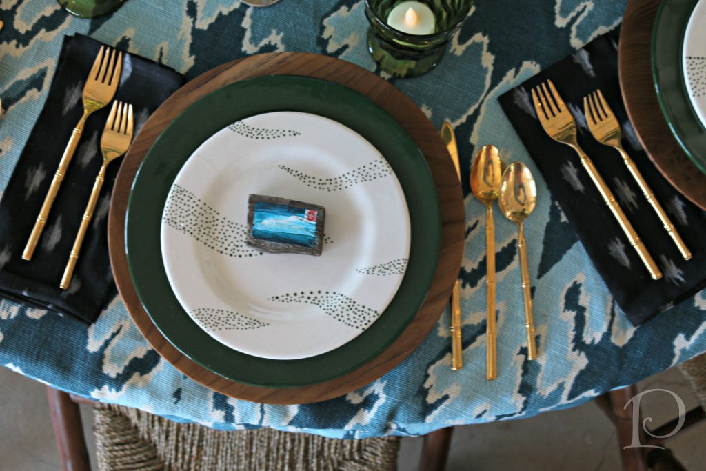 Heading Home To Dinner table design by Kalah Talancy