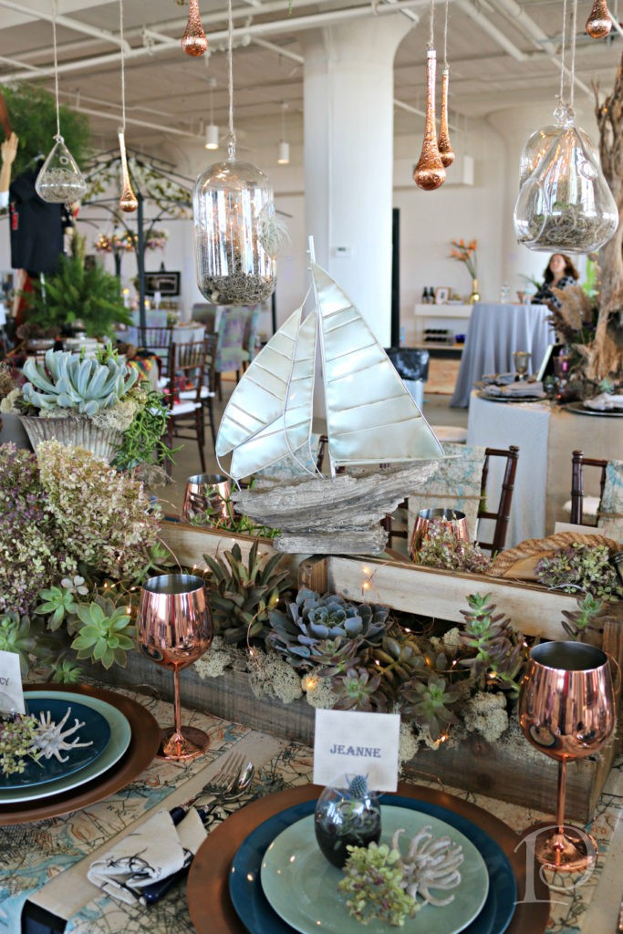 Heading Home To Dinner table design by Renee Rucci and Julie Wood